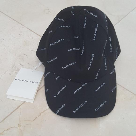957a1f67963 Balenciaga Black Baseball Cap